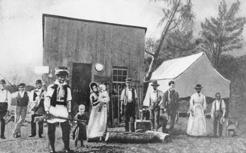 Pioneer Life - Kansas State History   Pioneer Life