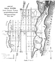 Map of Boca Raton, 1900.
