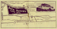 A 1920s map of Boca Ratone town site