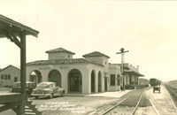 The Seaboard Air Line railroad Station, ca. 1940s