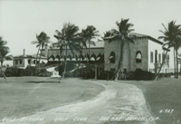 The Gulf Stream Golf Club was designed by architect Addison Mizner in built in 1924