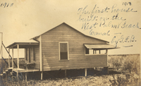 The first house built on the West Palm Beach Canal