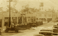 Main Street in Pahokee, 1930.
