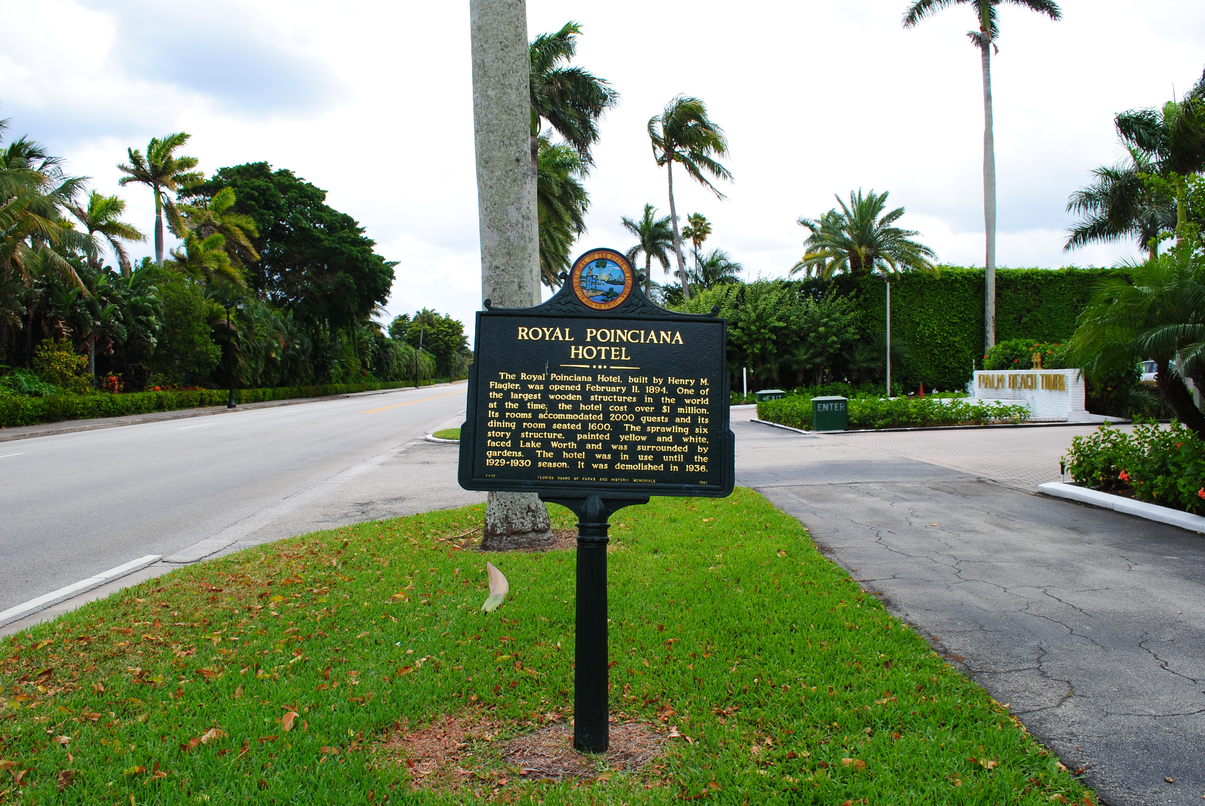 Historical Markers in PBC