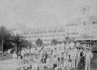 c. 1894 Construction Workers in front of the Royal Poinciana Hotel
