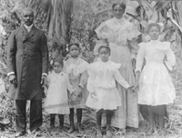 The Peppers Family in the Styx about 1906