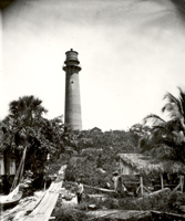 The Jupiter Inlet Lighthouse, ca. 1879