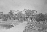 Palm Beach's first hotel, the Cocoanut Grove House