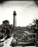 The Jupiter Inlet Lighthouse in 1879